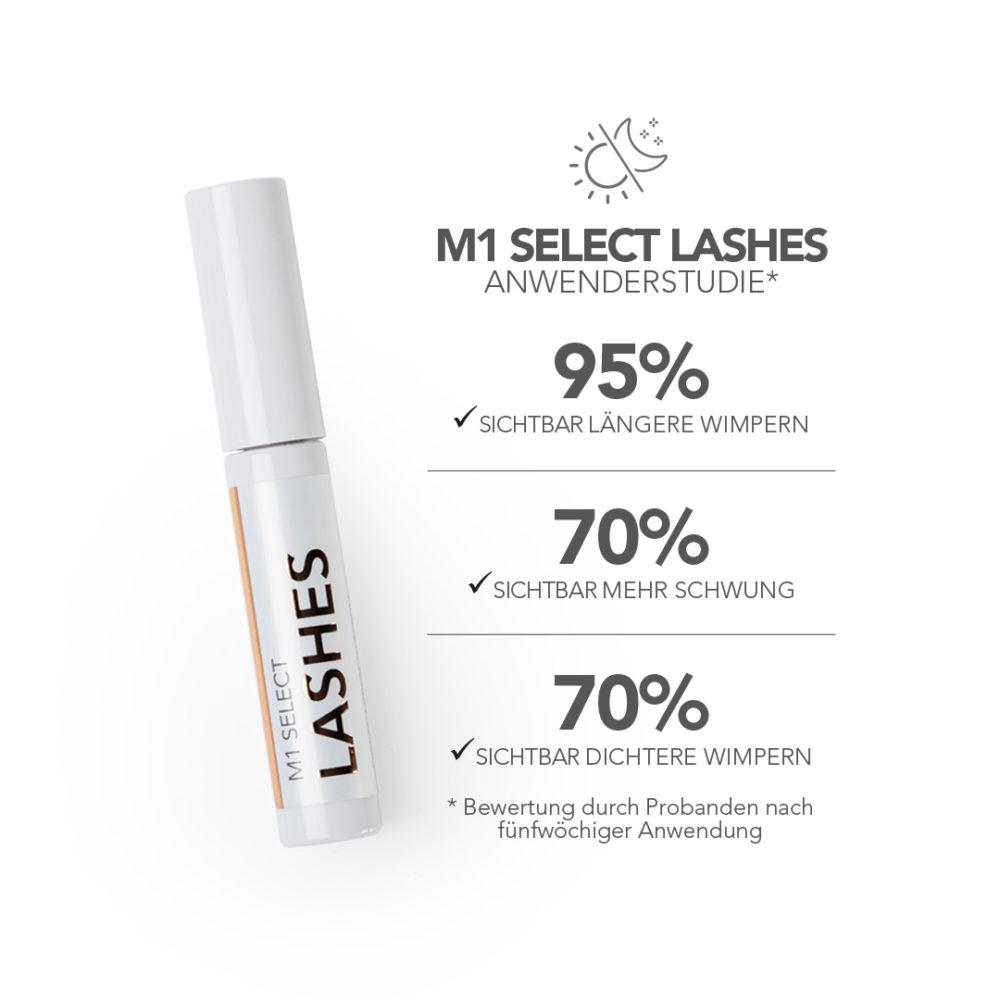 M1 Select Lashes Prouktbild Übersicht