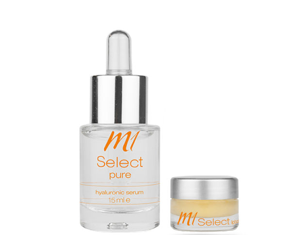 M1 Select pure + lipbooster Pflegeset