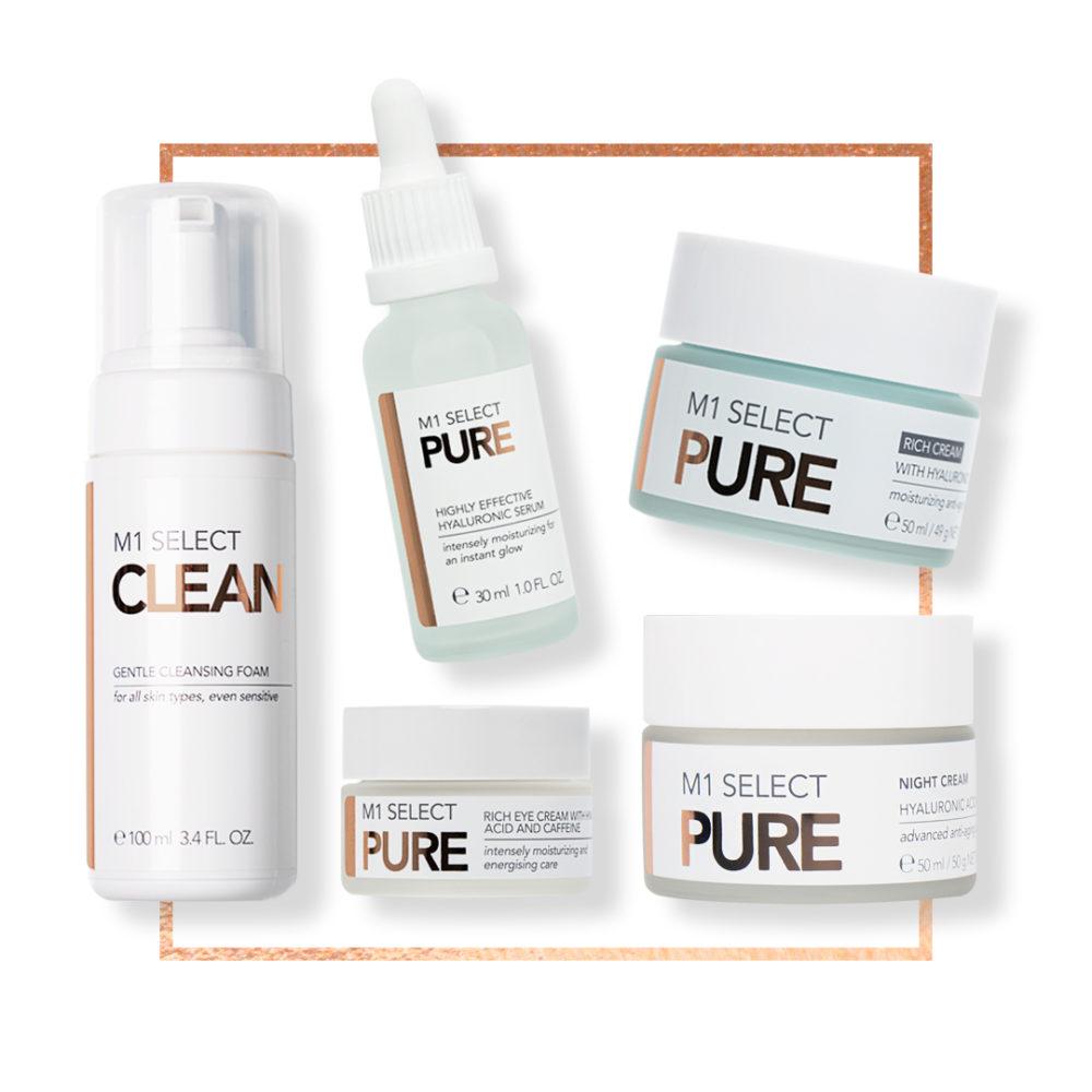 M1 Select Pflegeset für trockene Haut