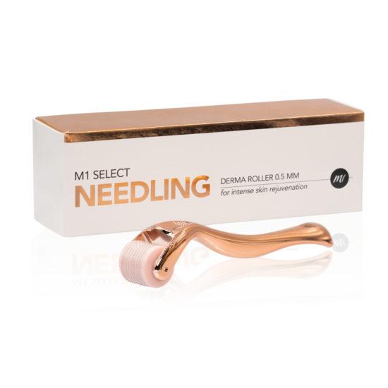 M1 SELECT NEEDLING - Derma Roller mit Verpackung