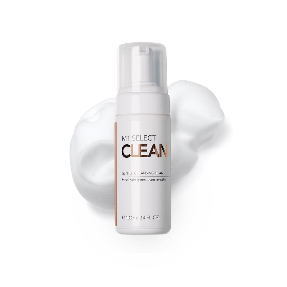 M1 SELECT CLEAN GENTLE CLEANSING FOAM