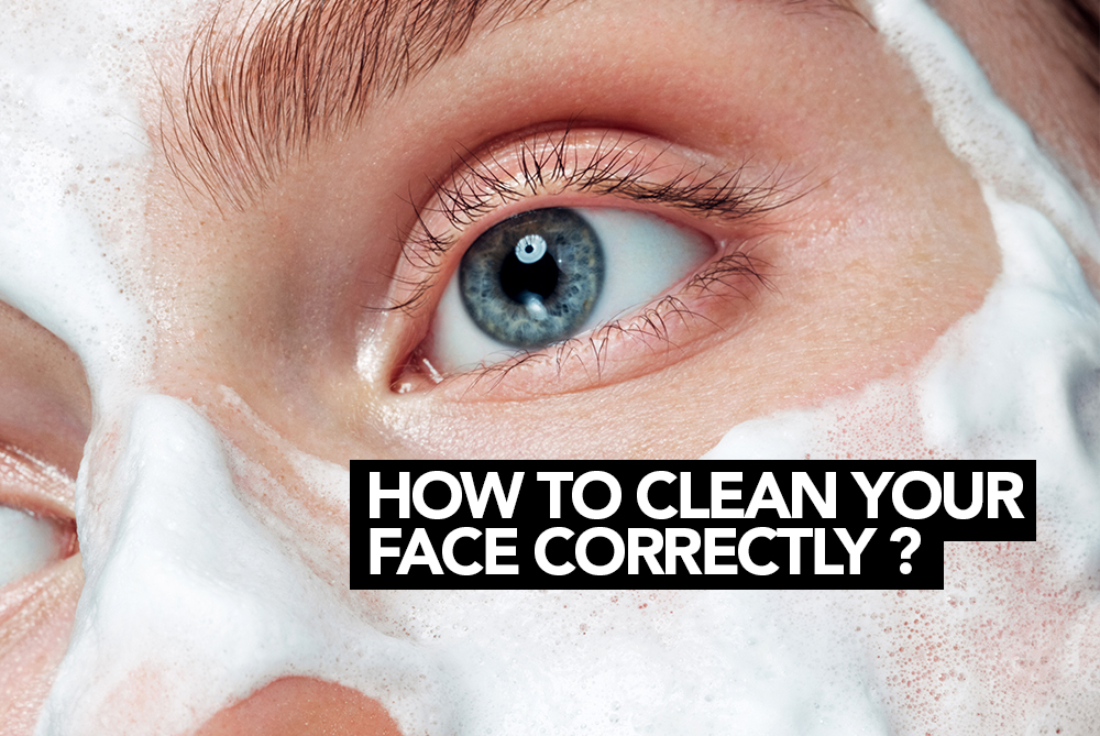 How to clean your face correctly? M1 Select blog