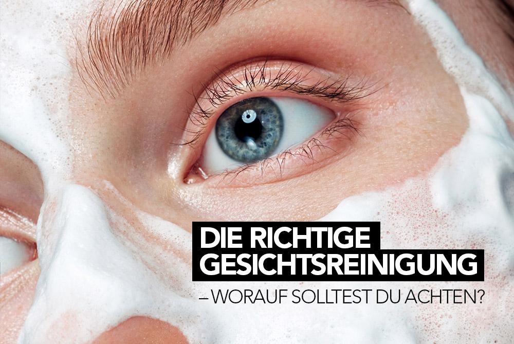 Die richtige Gesichtsreinigung - Worauf solltest Du achten? M1 SELECT CLEANSING FOAM