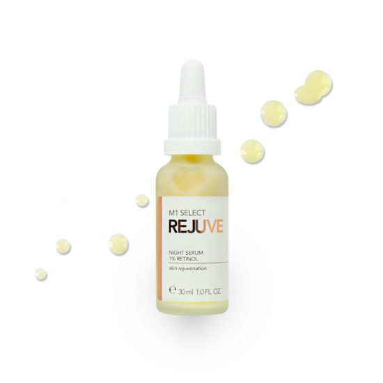 M1 SELECT REJUVE NIGHT SERUM 1% Retinol (Vitamin A)