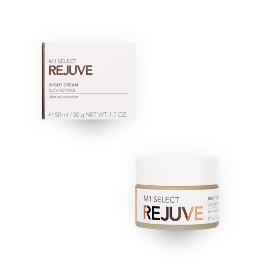 Nachtcreme mit 0.3% Retinol - M1 SELECT REJUVE NIGHT