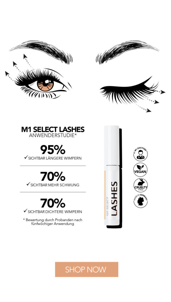 M1 Select Anwendungsstudie Lashes